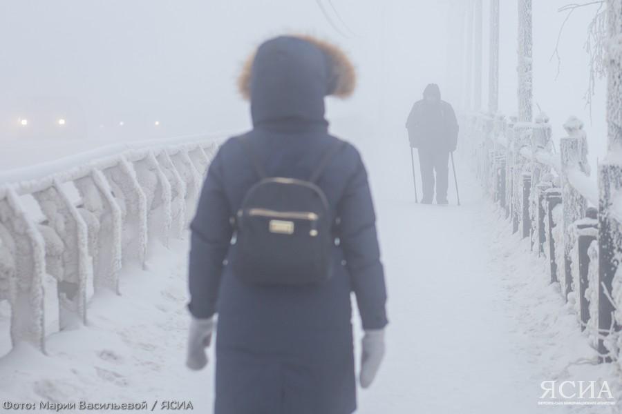 В некоторых районах Якутии зафиксировали морозы ниже 50 градусов