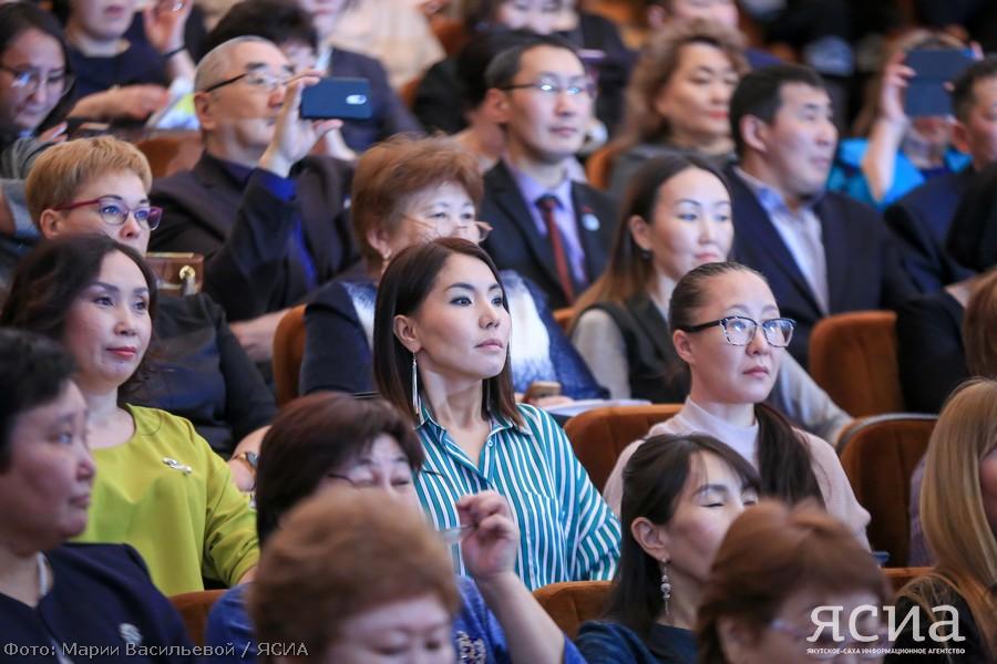 Глава Якутии выступил на январском совещании работников образования