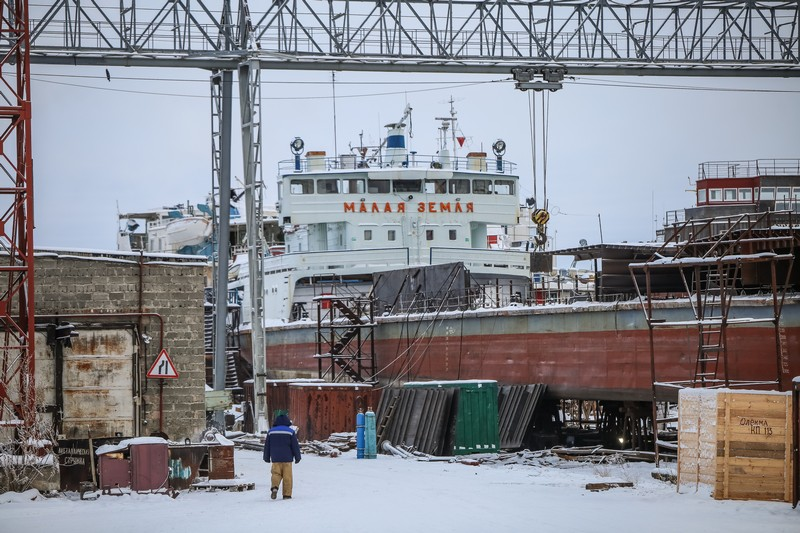 Власти Якутии ведут работу по включению Жатайской судоверфи в ТОР «Кангалассы»