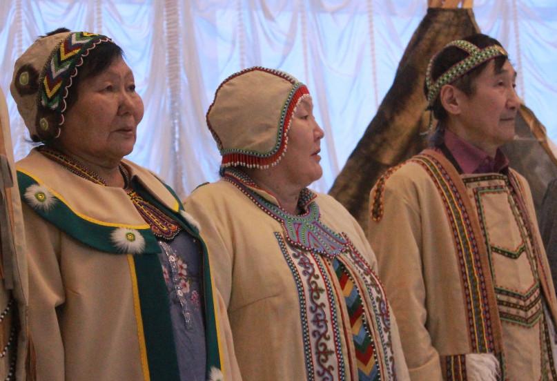 В Якутске представили круговые танцы коренных народов Севера