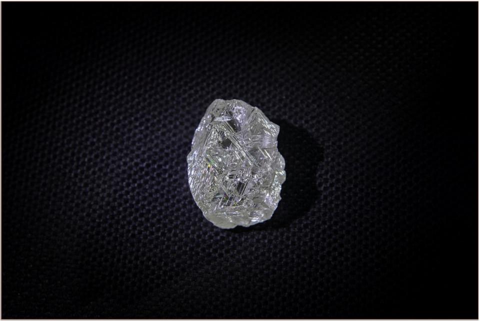 АЛРОСА добыла крупнейший за последние годы алмаз
