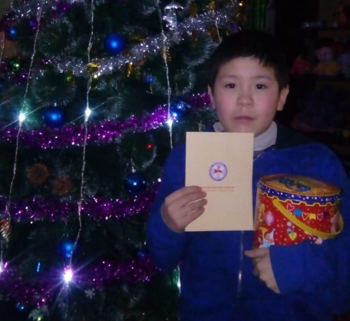 Детям из отдаленного колымского села Андрюшкино привезли новогодние подарки