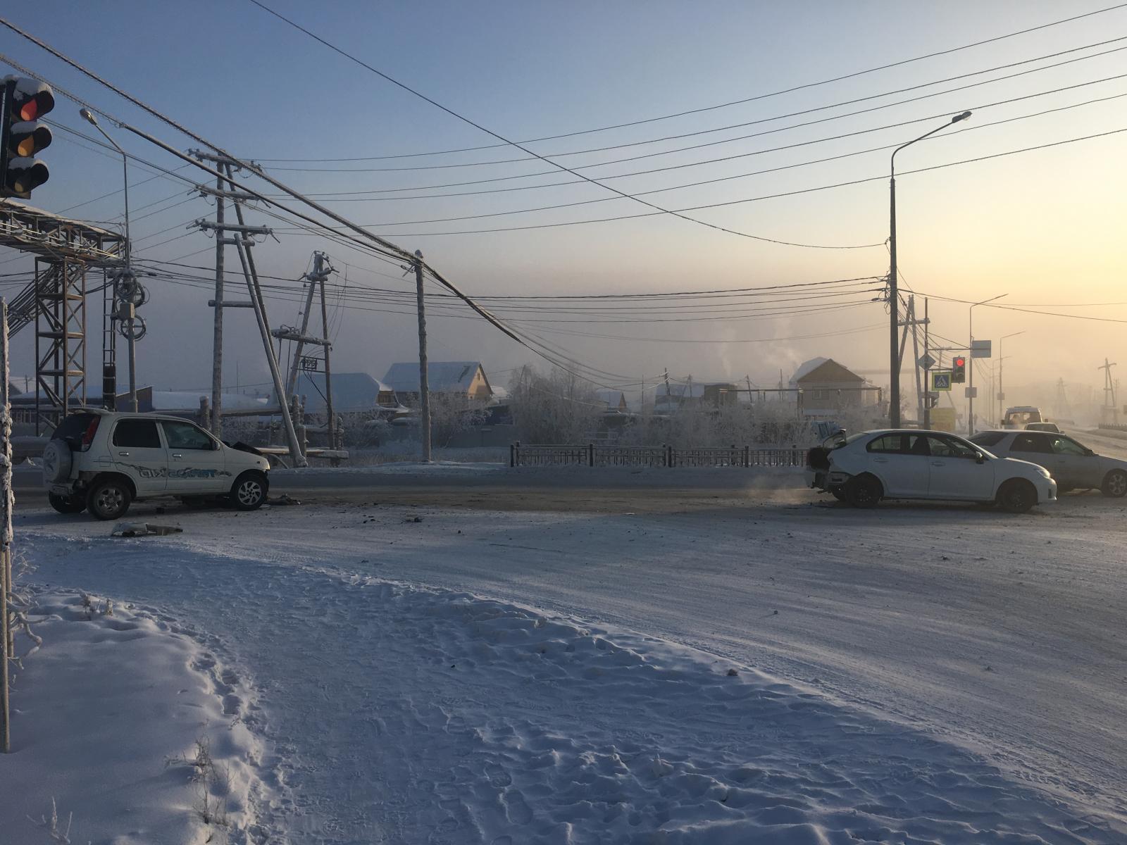 В Якутске на пешеходном переходе ребенок попал под колеса автомобиля