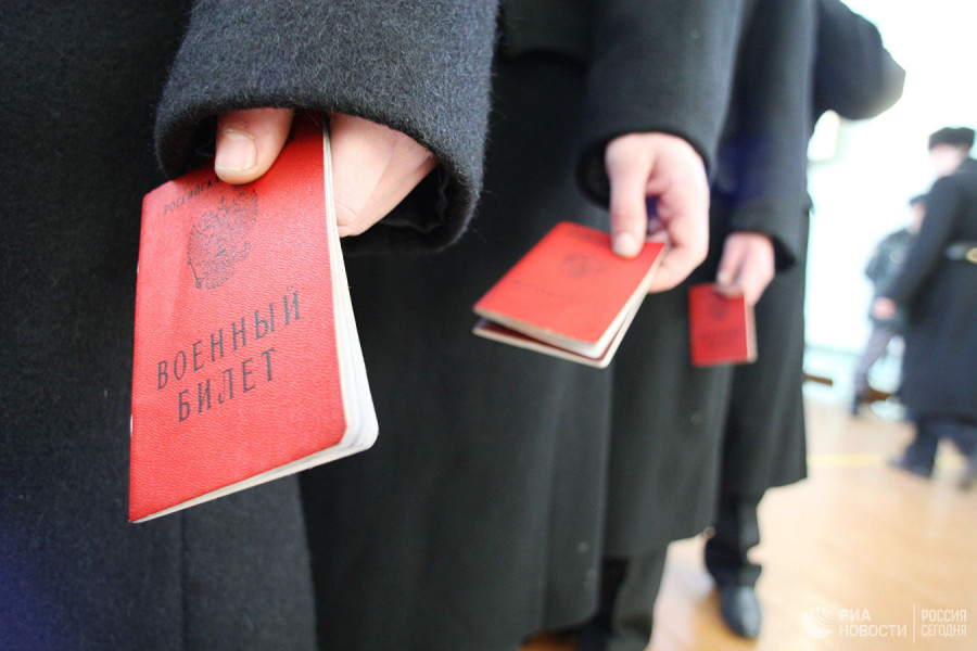 Принят закон о постановке на воинский учет по месту фактического проживания