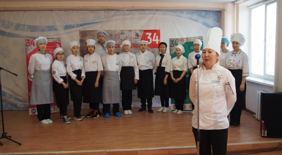 «Молодые профессионалы»: В Жатайском техникуме соревновались повара и сварщики