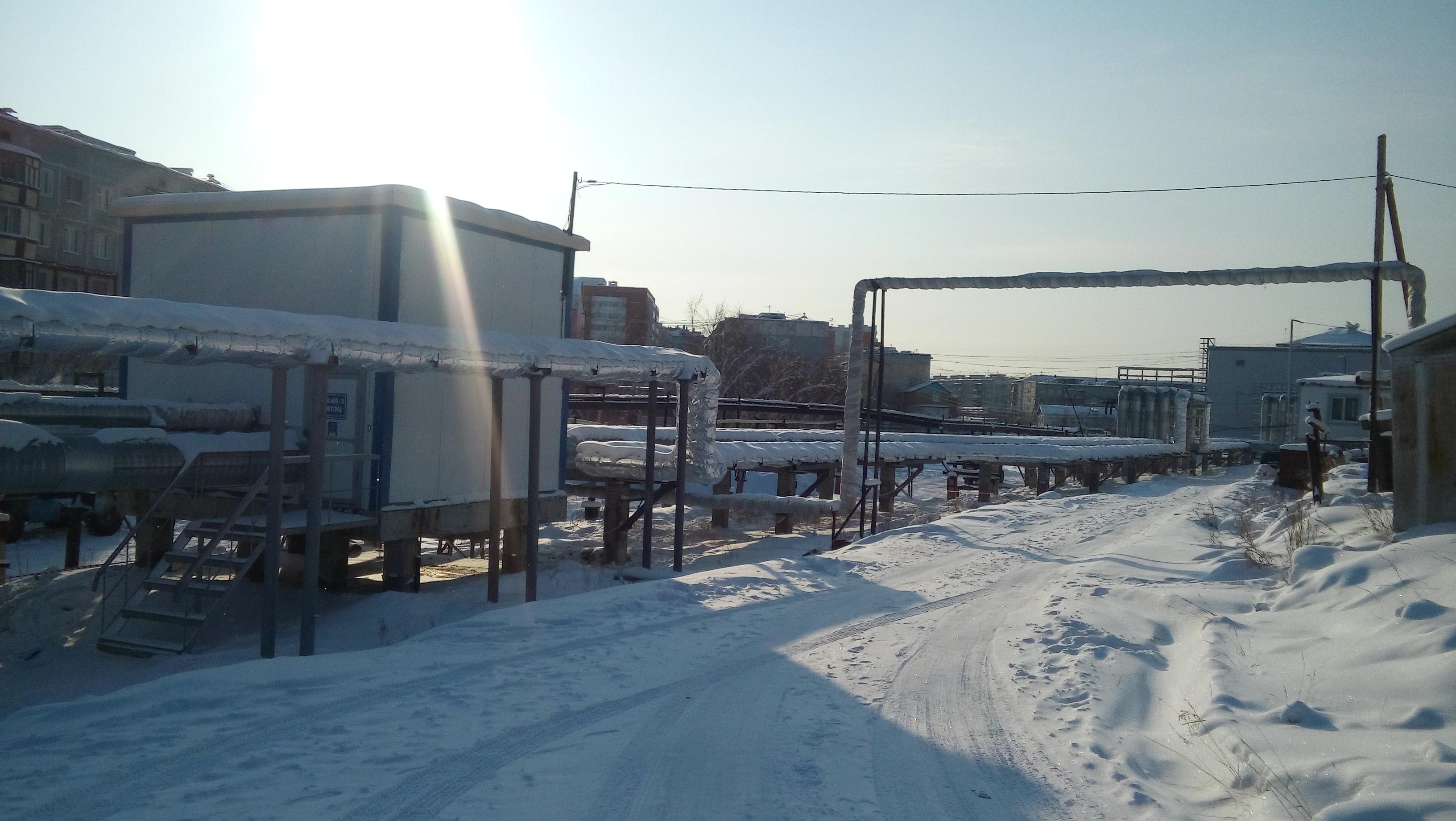 Реконструированы магистральные сети в Октябрьском округе города Якутска