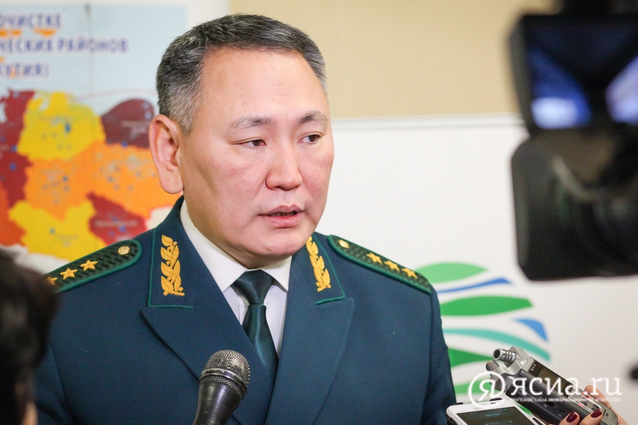 О чем якутяне спрашивали министра экологии Сахамина Афанасьева