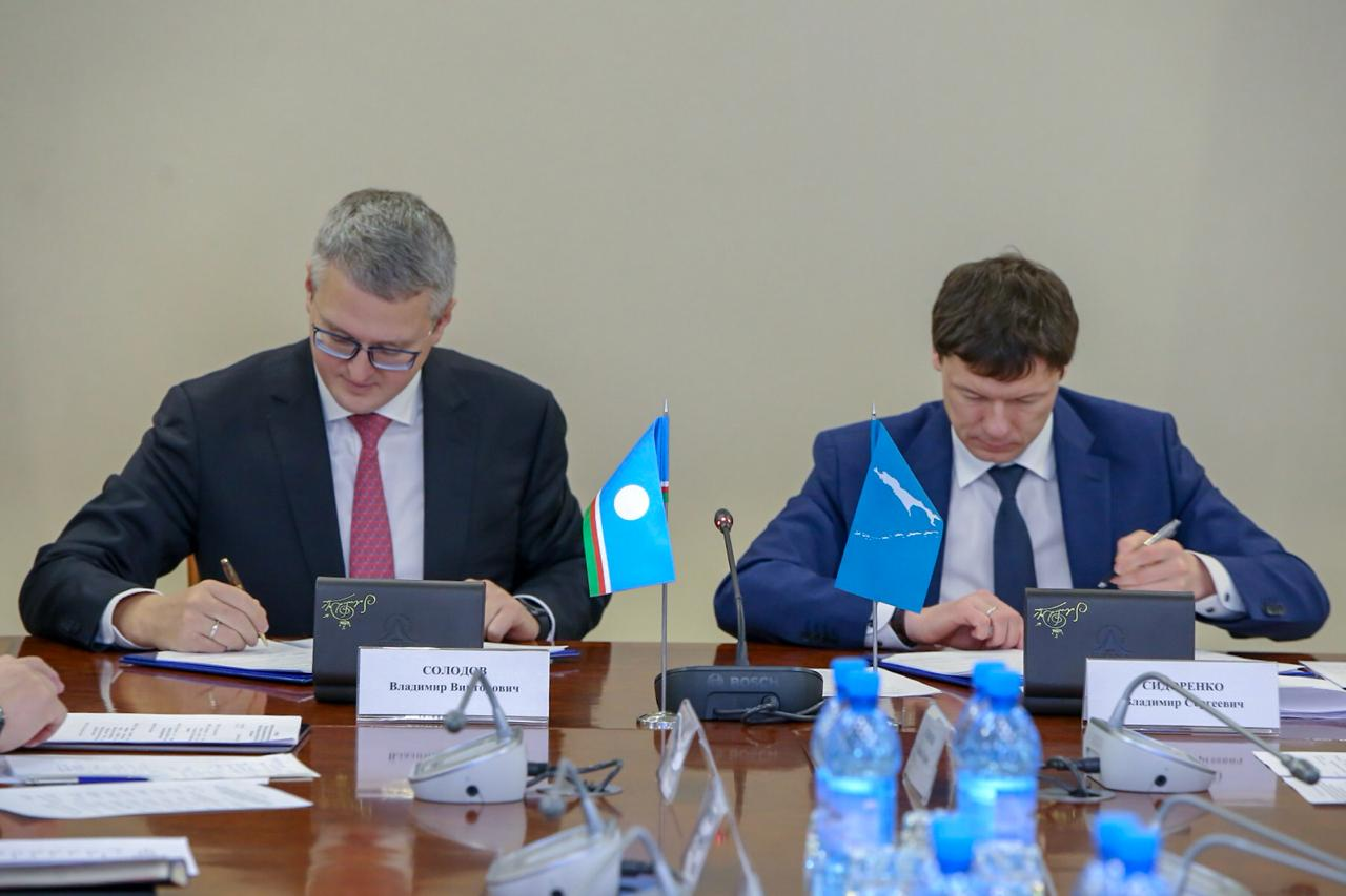 Якутия и Сахалин подписали соглашение о сотрудничестве