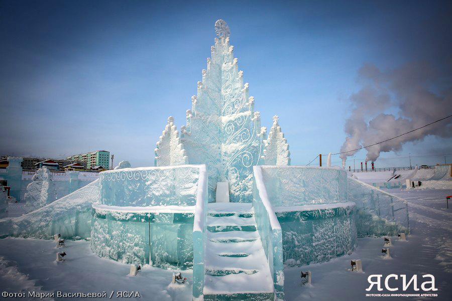 Ледовый парк на 202 микрорайоне готовится к открытию