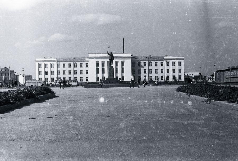 Якутск в 60-е годы