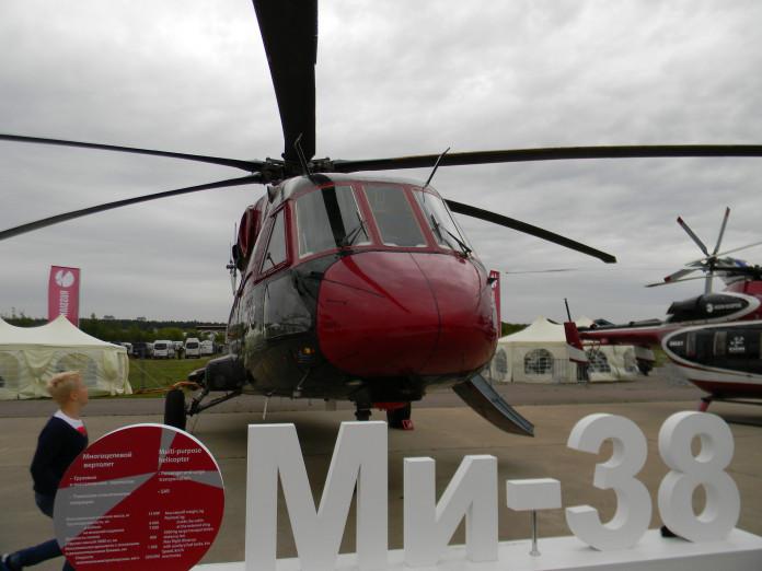 АЛРОСА и Московский вертолетный завод завершили испытания нового вертолета Ми-38-2