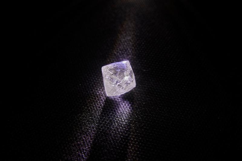 Верхне-Мунское месторождение АЛРОСА подарило новый крупный алмаз
