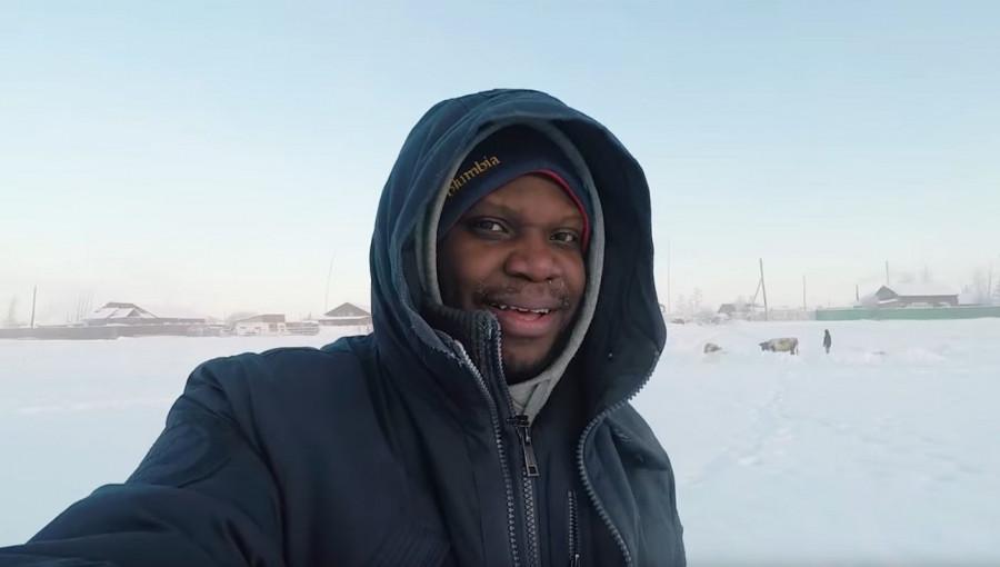 """""""Самый северный нигериец в мире"""" завел канал на YouTube о жизни в Якутии"""