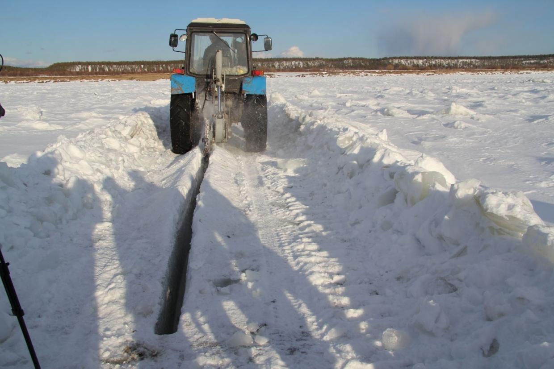 На реках Якутии будут проводиться работы по ослаблению прочности льда