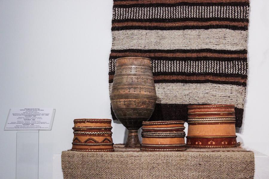 Наследие предков: В НХМ открылась выставка народного мастера Евдокии Пинигиной