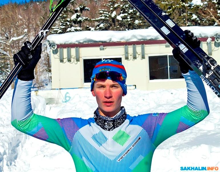 Владимир Рыбкин пришел вторым в финале Зимней Спартакиады учащихся России