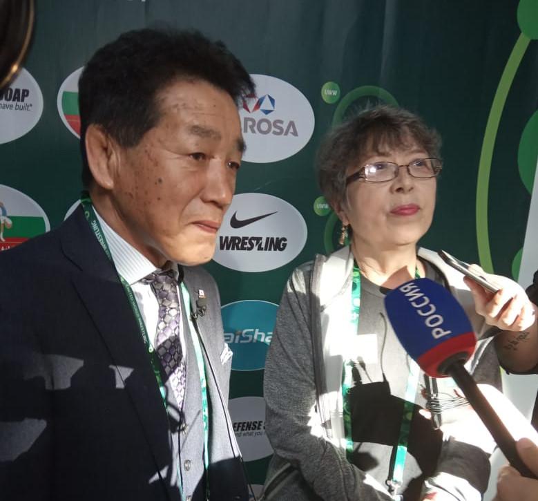 Олимпийский чемпион Юдзи Такада гостит на Кубке мира в Якутске