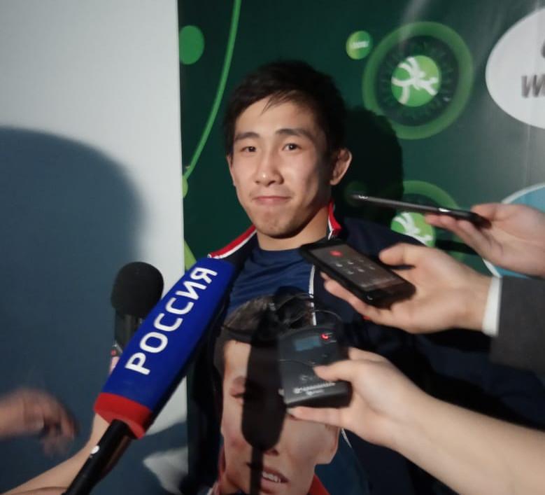 Арыйаан Тютрин пришел на Кубок мира по вольной борьбе только за победой