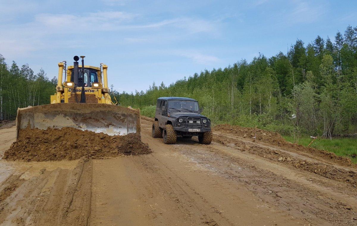Росавтодор выделит деньги на строительство и реконструкцию 58,4 км автомобильных дорог в Якутии