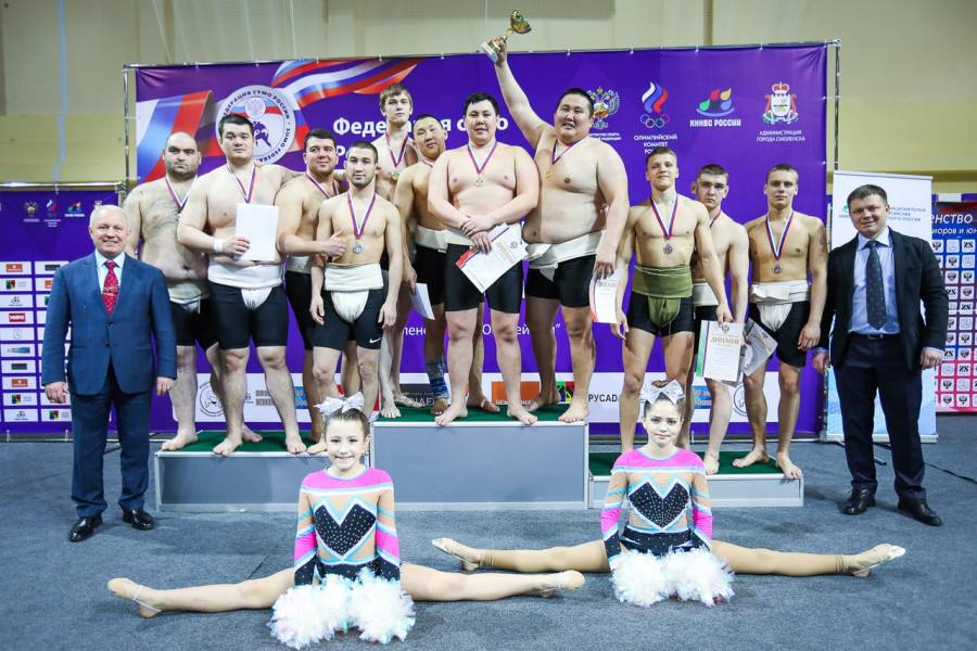 Якутские хапсагаисты завоевали Кубок России по сумо