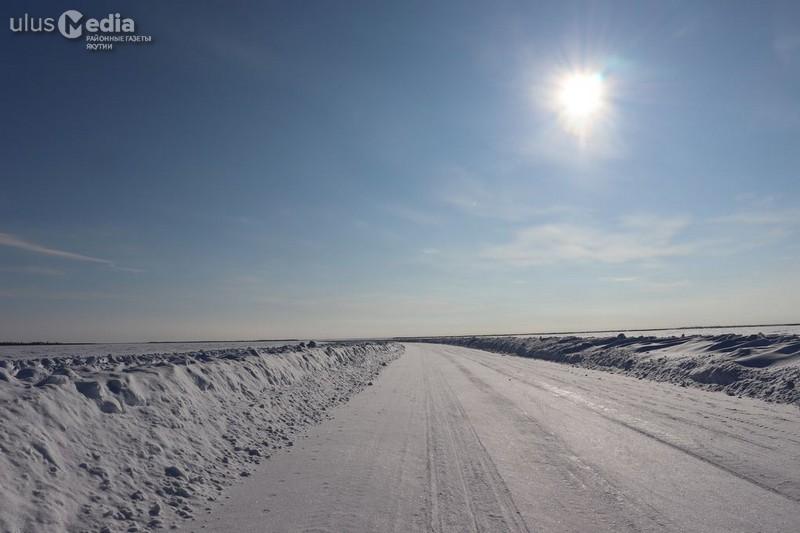 На зимниках Нижней Колымы ликвидируют последствия пурги