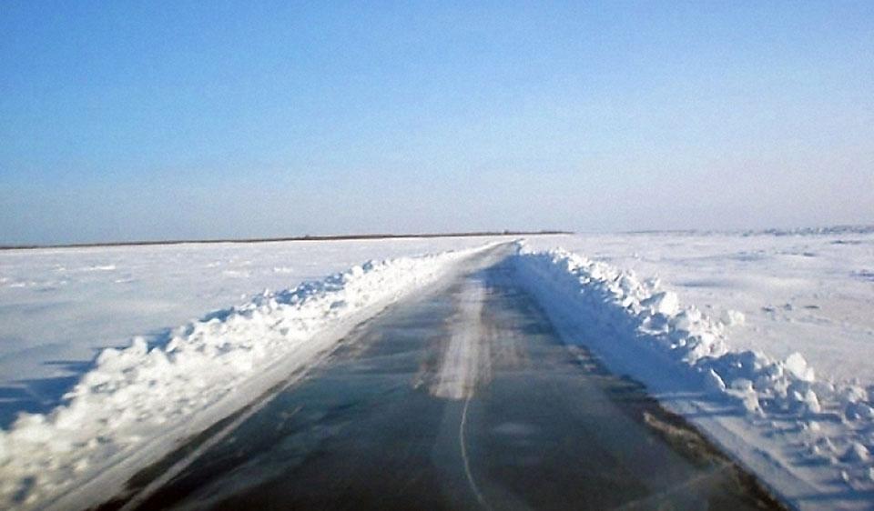 Ледовые переправы в Якутии закроются 16 апреля