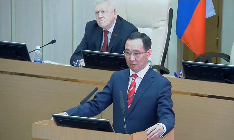 Глава Якутии объяснил, кого затронут сокращения в бюджетной сфере