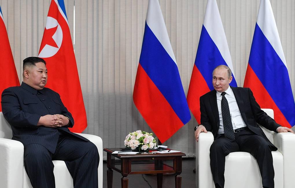 Ким Чен Ын пригласил Владимира Путина посетить КНДР