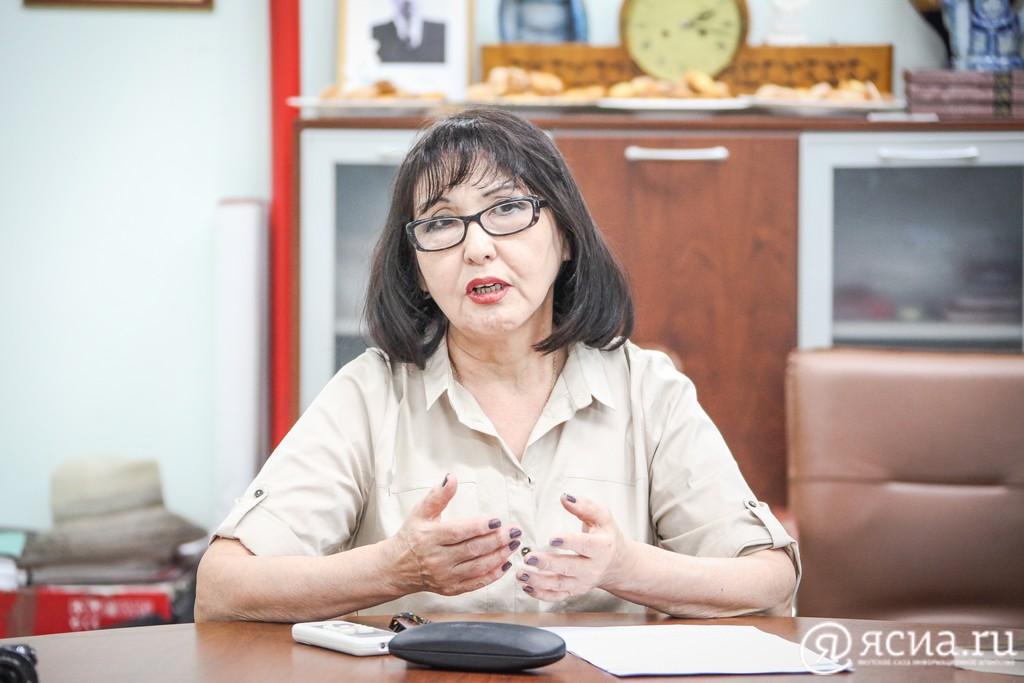 Ася Габышева освобождена от должности руководителя Национального художественного музея