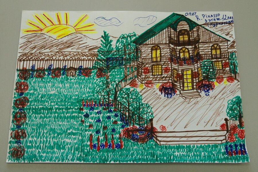 Пациенты онкологического диспансера поучаствовали в конкурсе рисунков