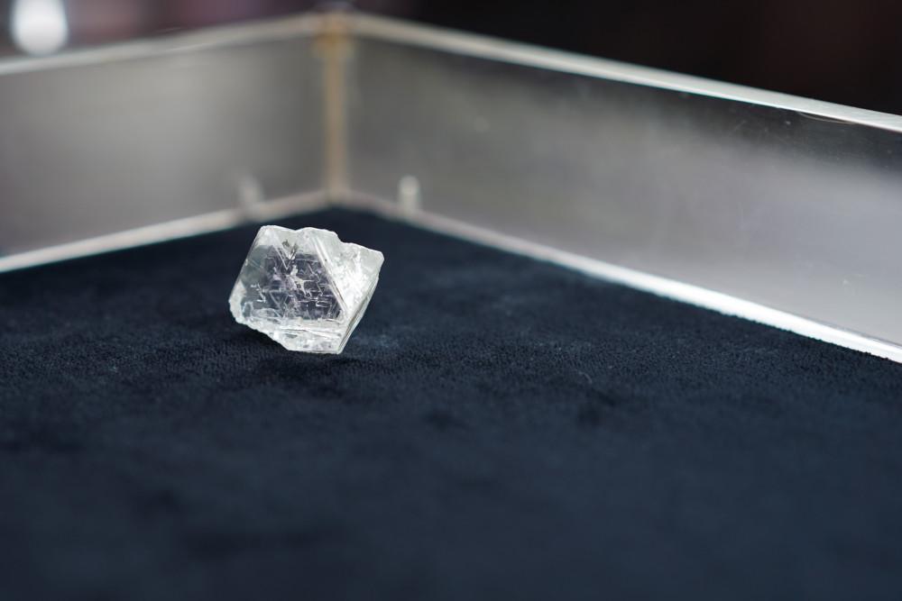 """На руднике """"Интернациональный"""" добыт самый крупный алмаз ювелирного качества за последние 2 года"""
