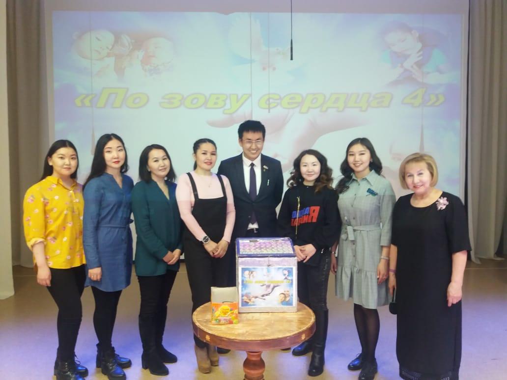 В Депутатском состоялась благотворительная акция «По зову сердца»