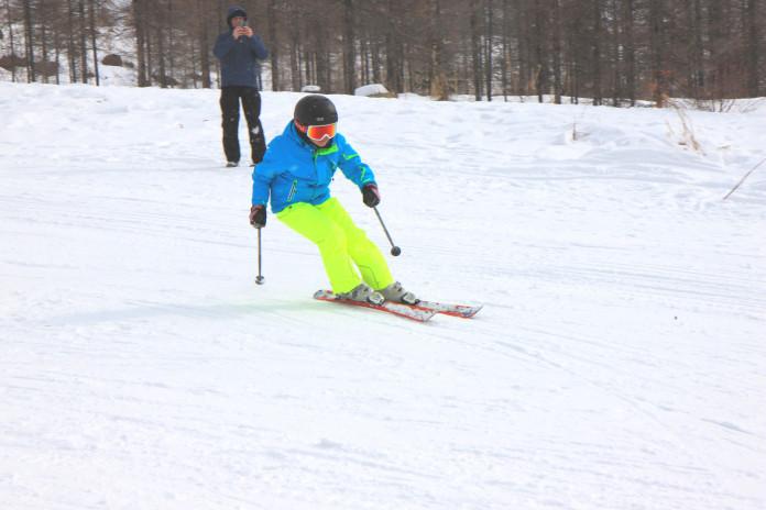 В Айхале впервые провели официальные соревнования по сноуборду