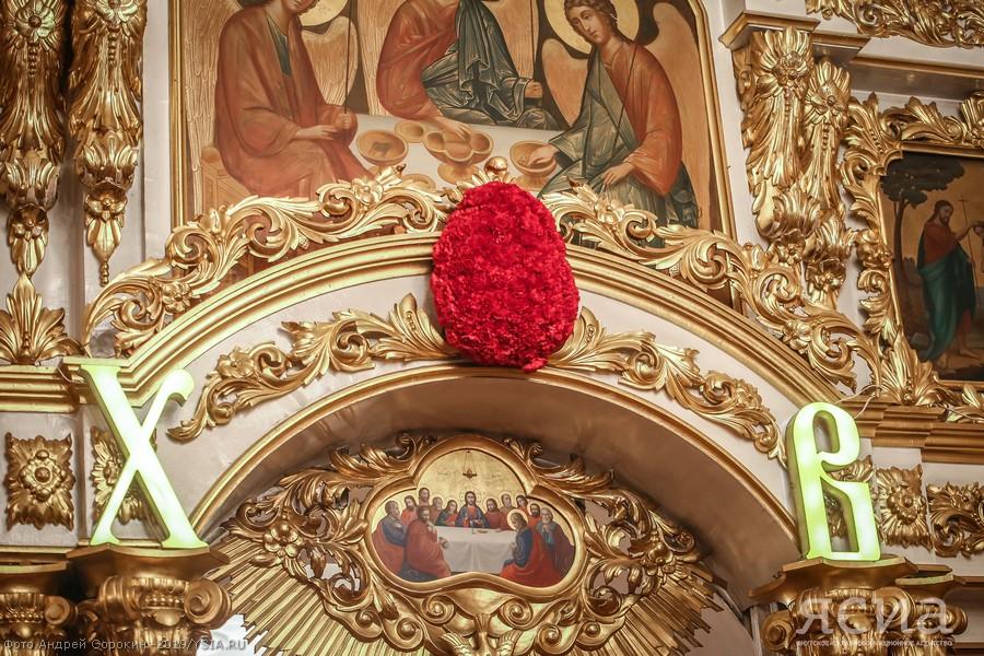 Пасхальная ночь в главном храме Якутии (ФОТО)