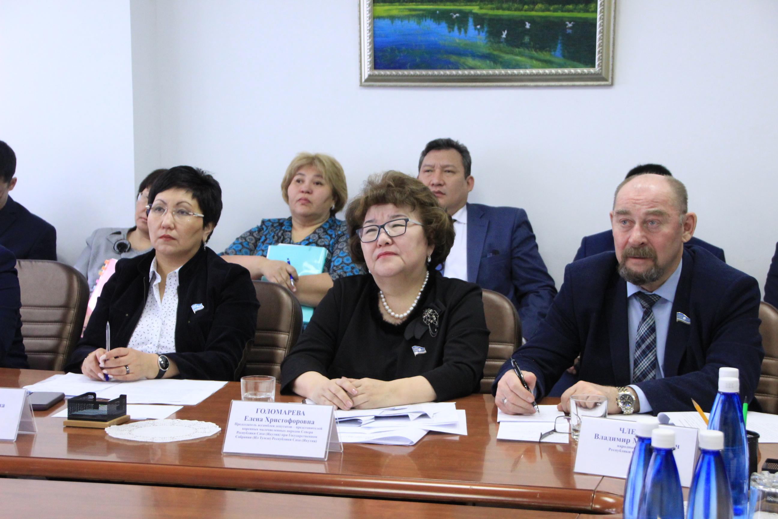 Повышение качества жизни народов Севера обсудили делегаты съезда юкагиров с депутатами Якутии