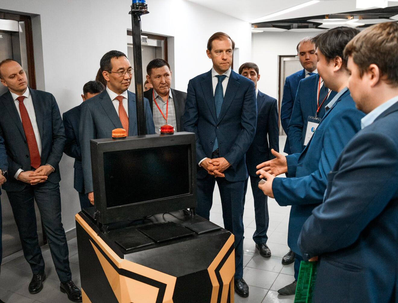 Министр промышленности России высоко оценил формат IT-парка в Якутске