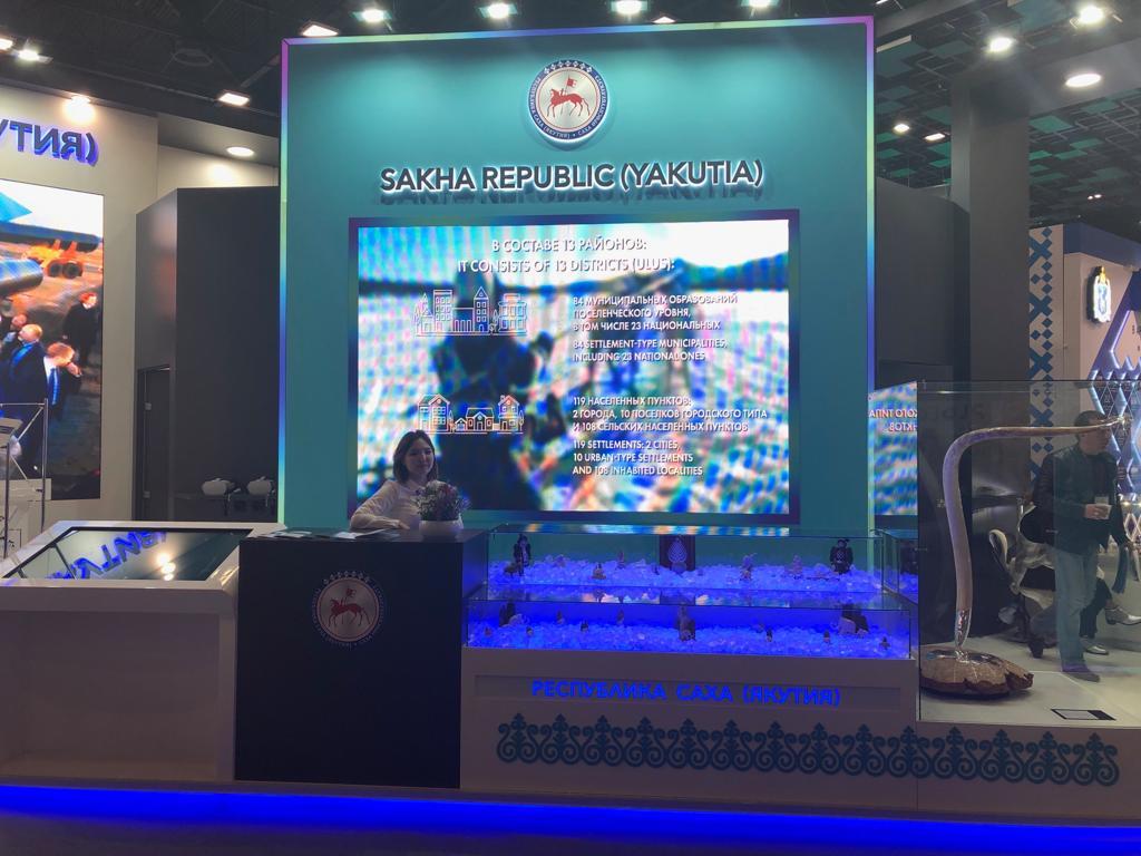 Тачскрин, макет верфи, бриллиантовый бивень: Потенциал Якутии представят на Арктическом форуме