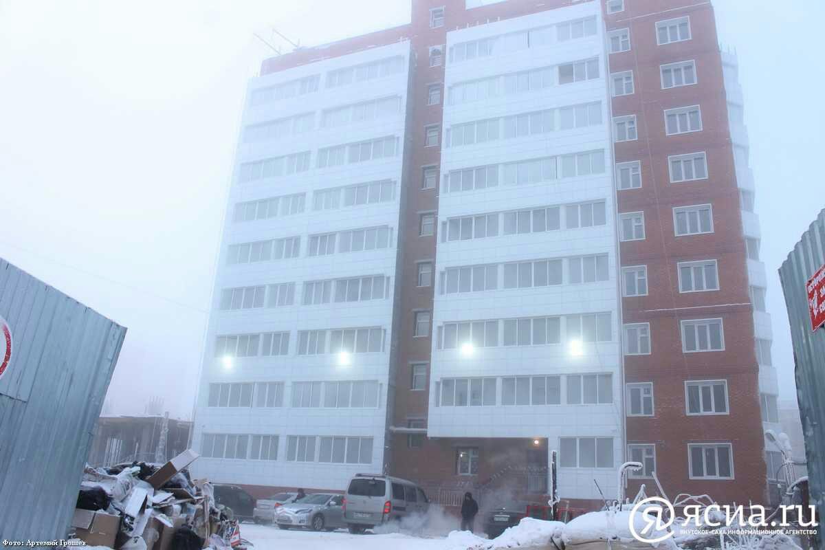 Новый застройщик введёт долгострой по ул. Каландаришвили в Якутске уже в следующем году