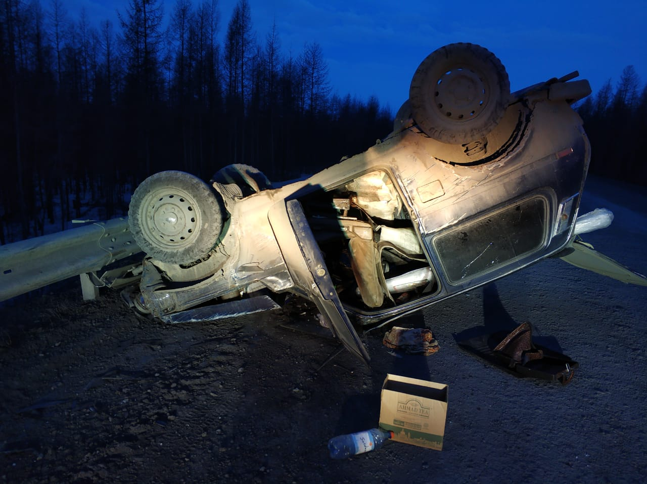 В Оймяконском районе по вине пьяного водителя пострадала женщина