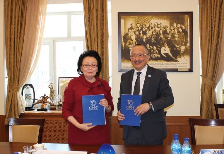 Госкомзанятости Якутии и СВФУ подписали Соглашение об информационном сотрудничестве