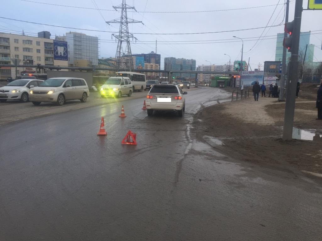 Второклассника сбили на пешеходном переходе в Якутске