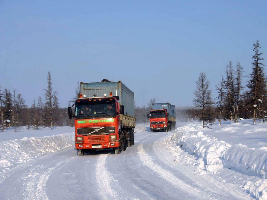 В Якутии по автозимникам с перевыполнением плана завезли более 647 тысяч тонн грузов