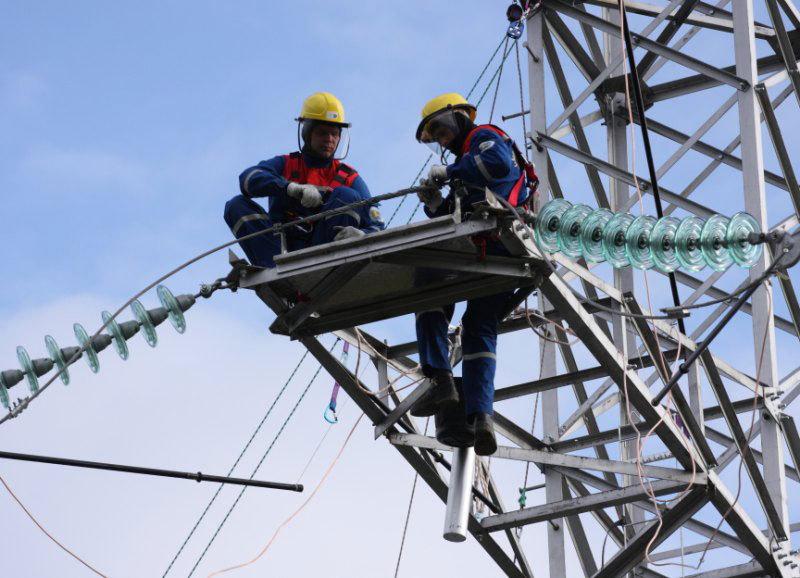 График плановых работ энергетиков на 16 мая