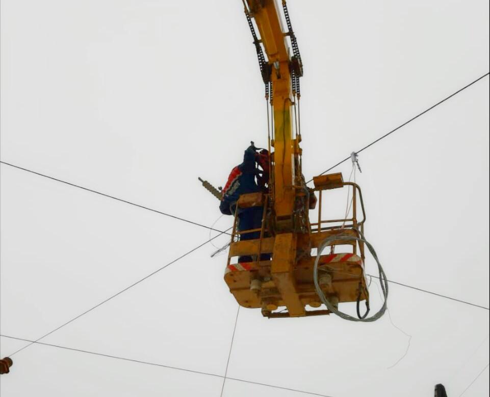 Энергетики восстановили электроснабжение посёлка Айхал Мирнинского района Якутии