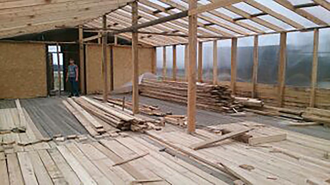 Умную теплицу строят на якутском «дальневосточном гектаре»