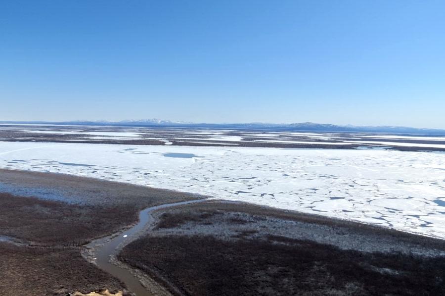 На особом контроле — Среднеколымск: Ледоход остановился