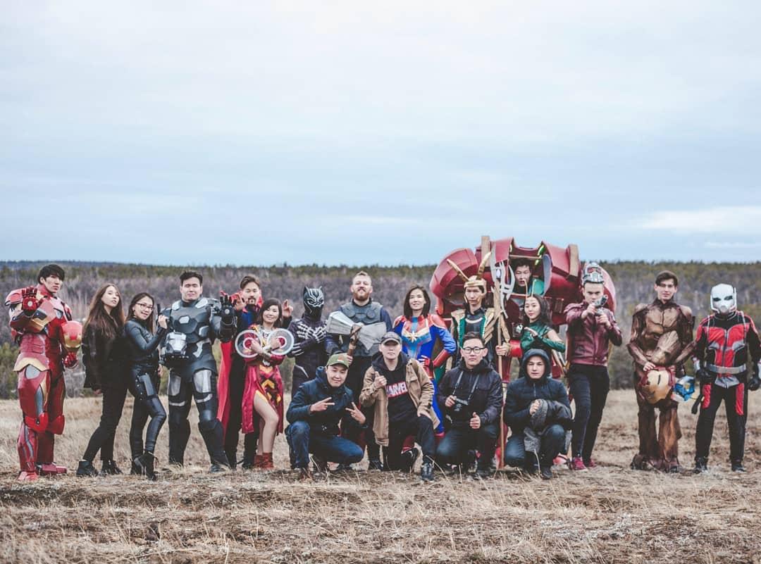 """Якутские фанаты Marvel сняли свой супергеройский ролик """"Мстителей"""""""
