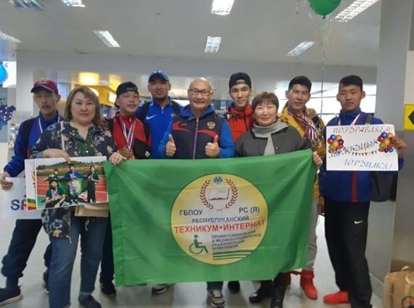 Студенты республиканского техникума-интерната завоевали 13 медалей на Первенстве России