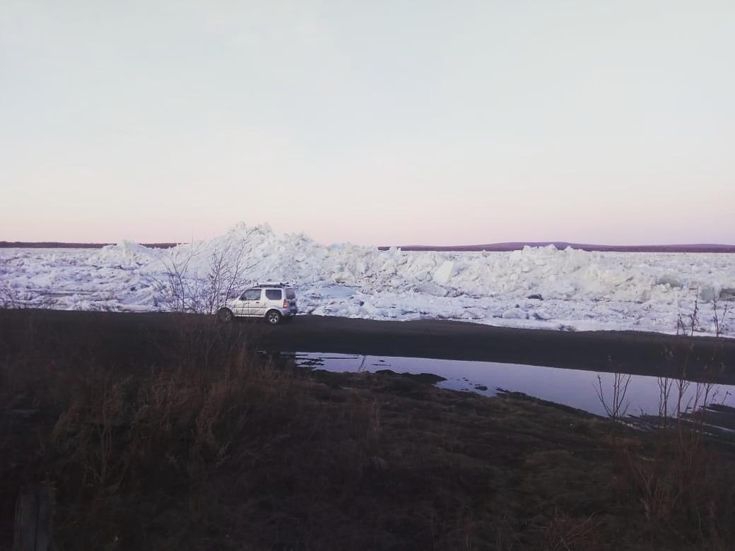 Уровень воды у Среднеколымска приблизился к опасной отметке