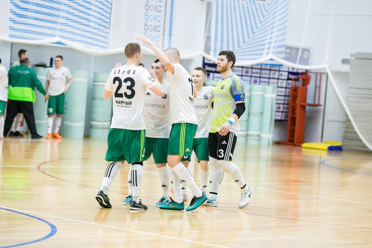Мирнинский «Алмаз» вышел в финал плей-офф чемпионата России